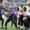 [NFL] Week 15: Sack City (Jacksonville Jaguars vs Baltimore Ravens 12-20)
