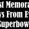 Le azioni più belle dei Super Bowl con il commento originale