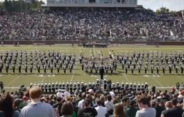 [NCAA] Gangnam Style - Ohio University Marching 110