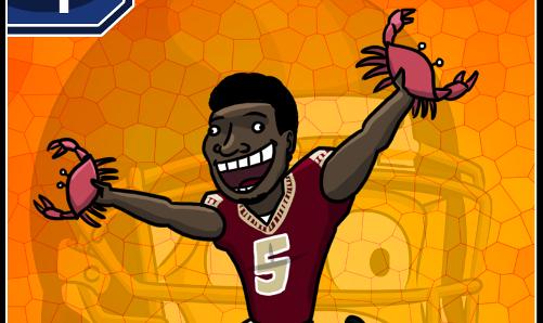 Le caricature del primo giro del Draft NFL