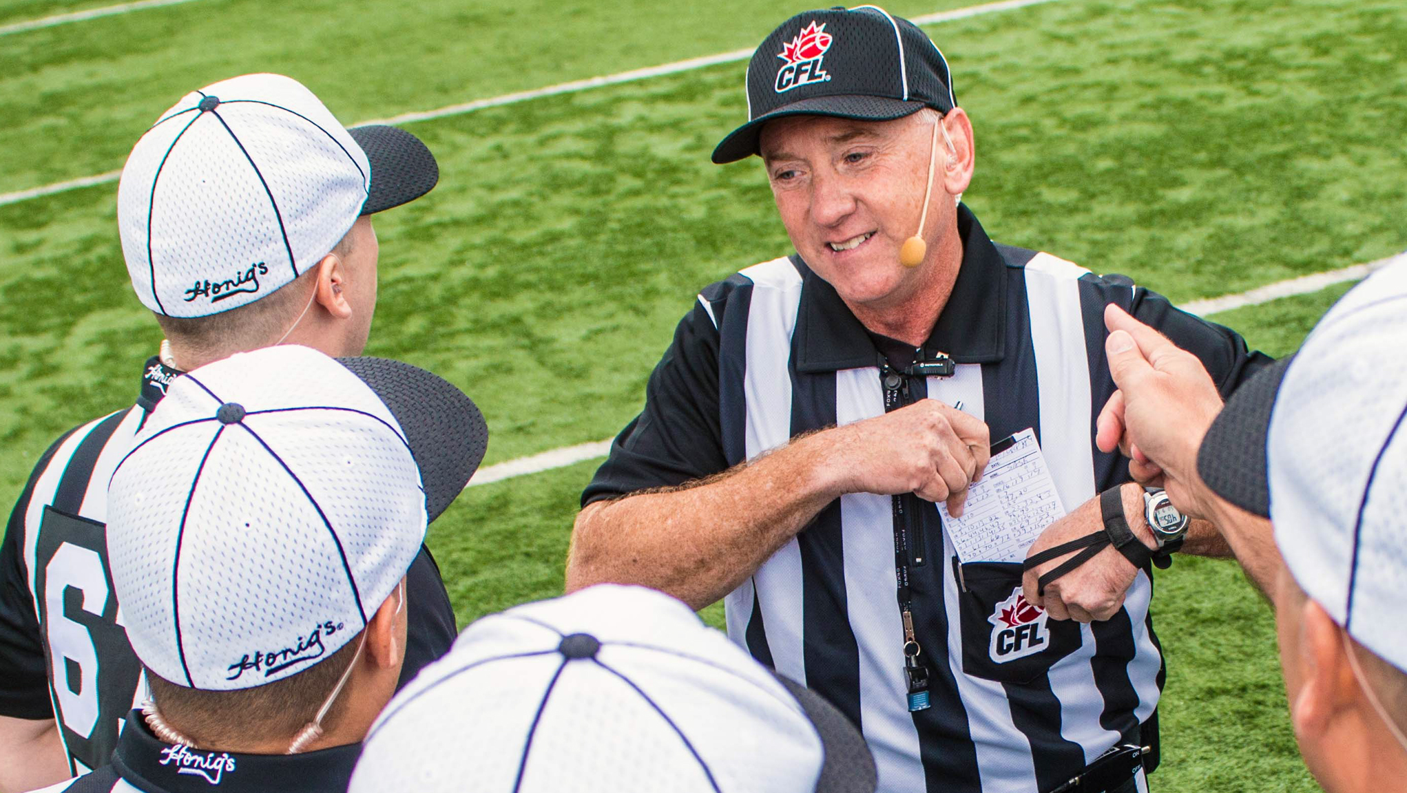 [POST-IT] Collaborazione tra arbitri NFL e CFL
