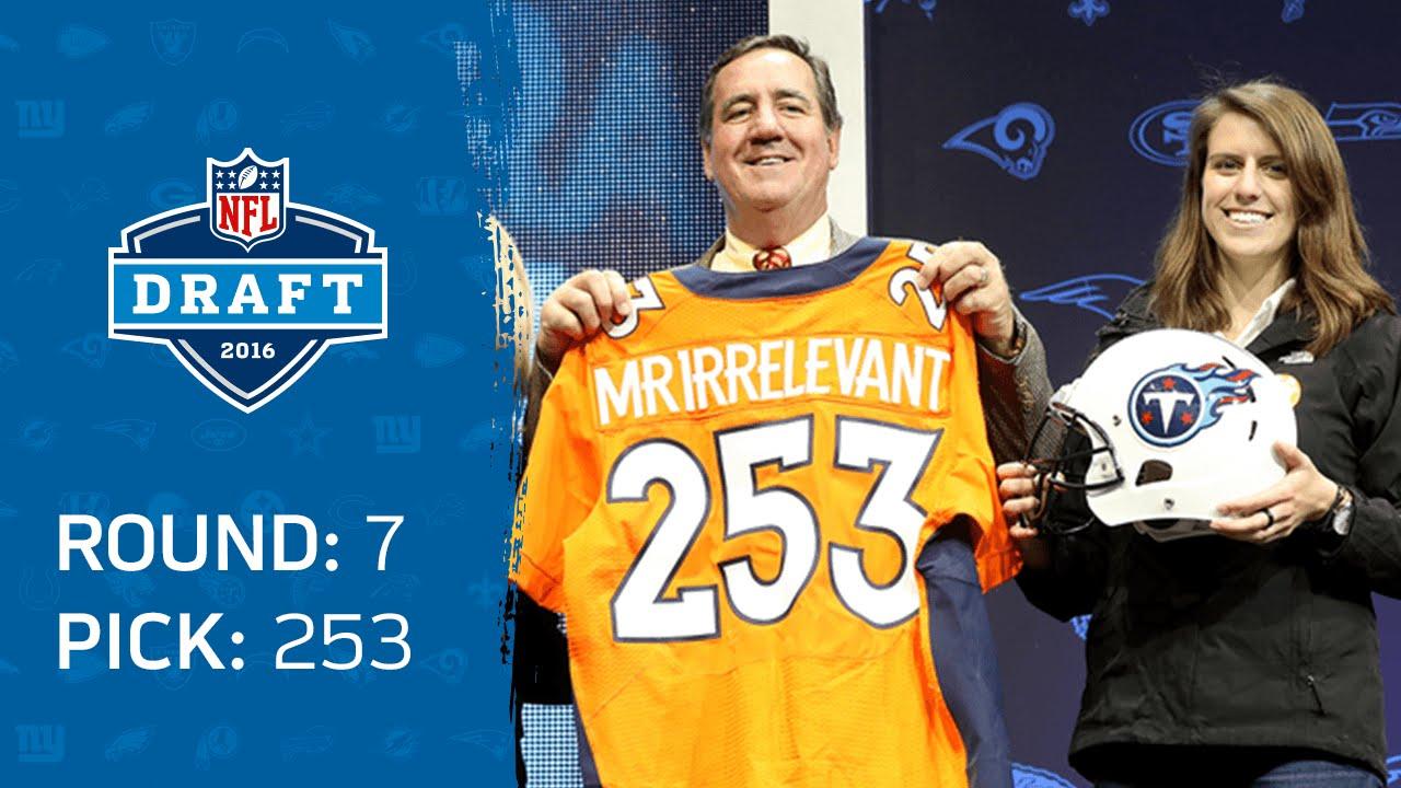 [NFL] La storia dei Mr. Irrelevant dal 1994 ad oggi