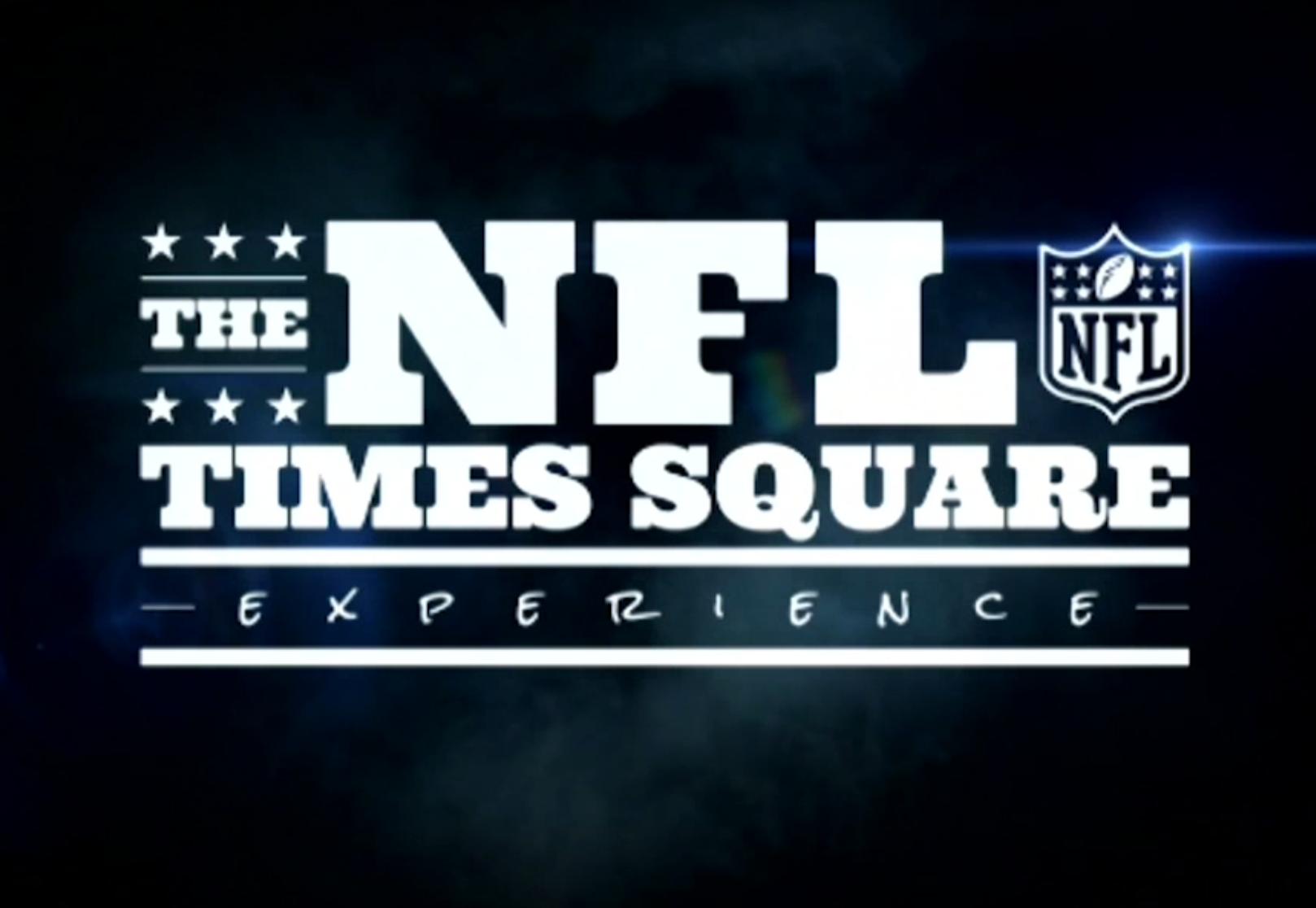 NFL e Cirque du Soleil a Times Square dal 2017