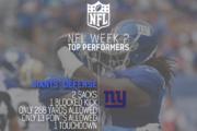 [NFL] Week 2: migliori prestazioni statistiche