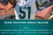 [NFL] Week 6: Media Release delle partite odierne