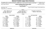 [NFL] Week 5: Gamebook di tutte le partite