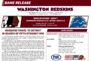 [NFL] Week 7: Media Release delle partite odierne