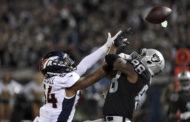[NFL] Week 9: Broncos domati dai Raiders (Denver Broncos vs Oakland Raiders 20-30)