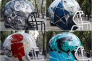 I trentadue caschi NFL disegnati alla