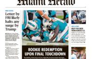[NFL] Week 9: le prime pagine dei giornali