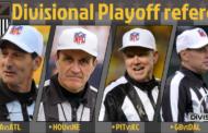 [NFL] Divisional: le crew arbitrali