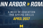 [NCAA] I Michigan Wolverines a Roma ad aprile