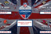 [NFL] Finiti i biglietti per Wembley e le date per acquistare quelli di Twickenham