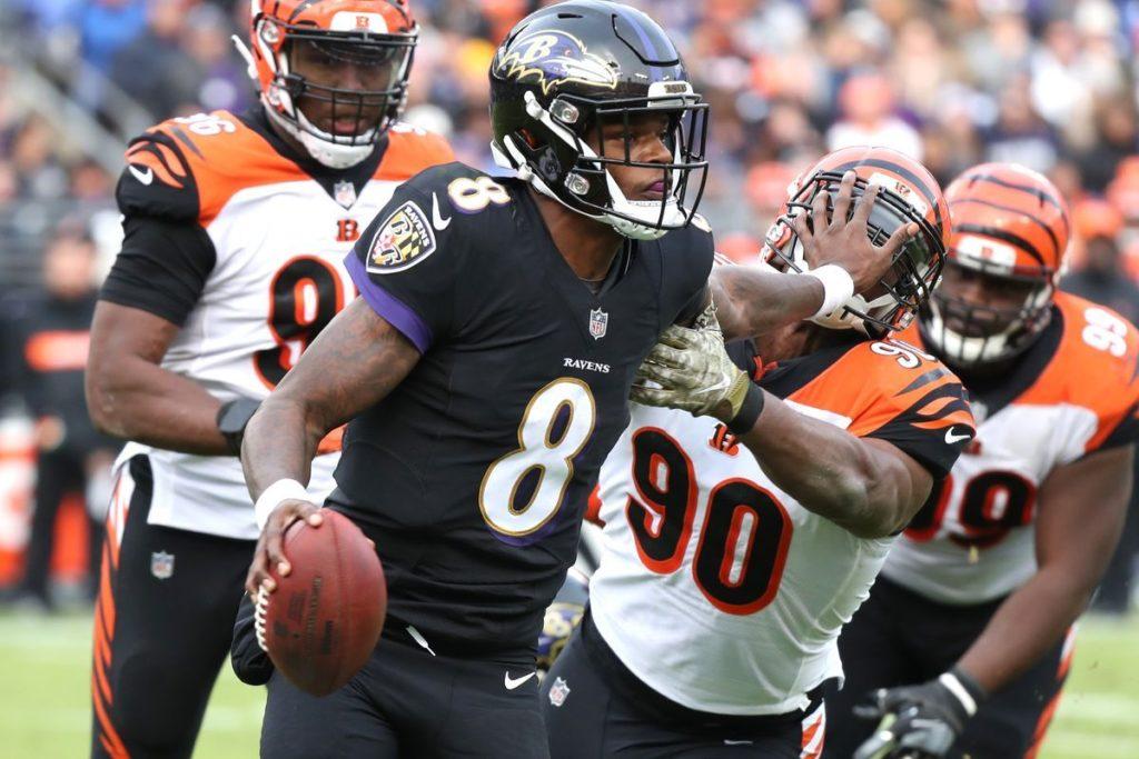 Miglior QB: Lamar Jackson, Baltimore Ravens