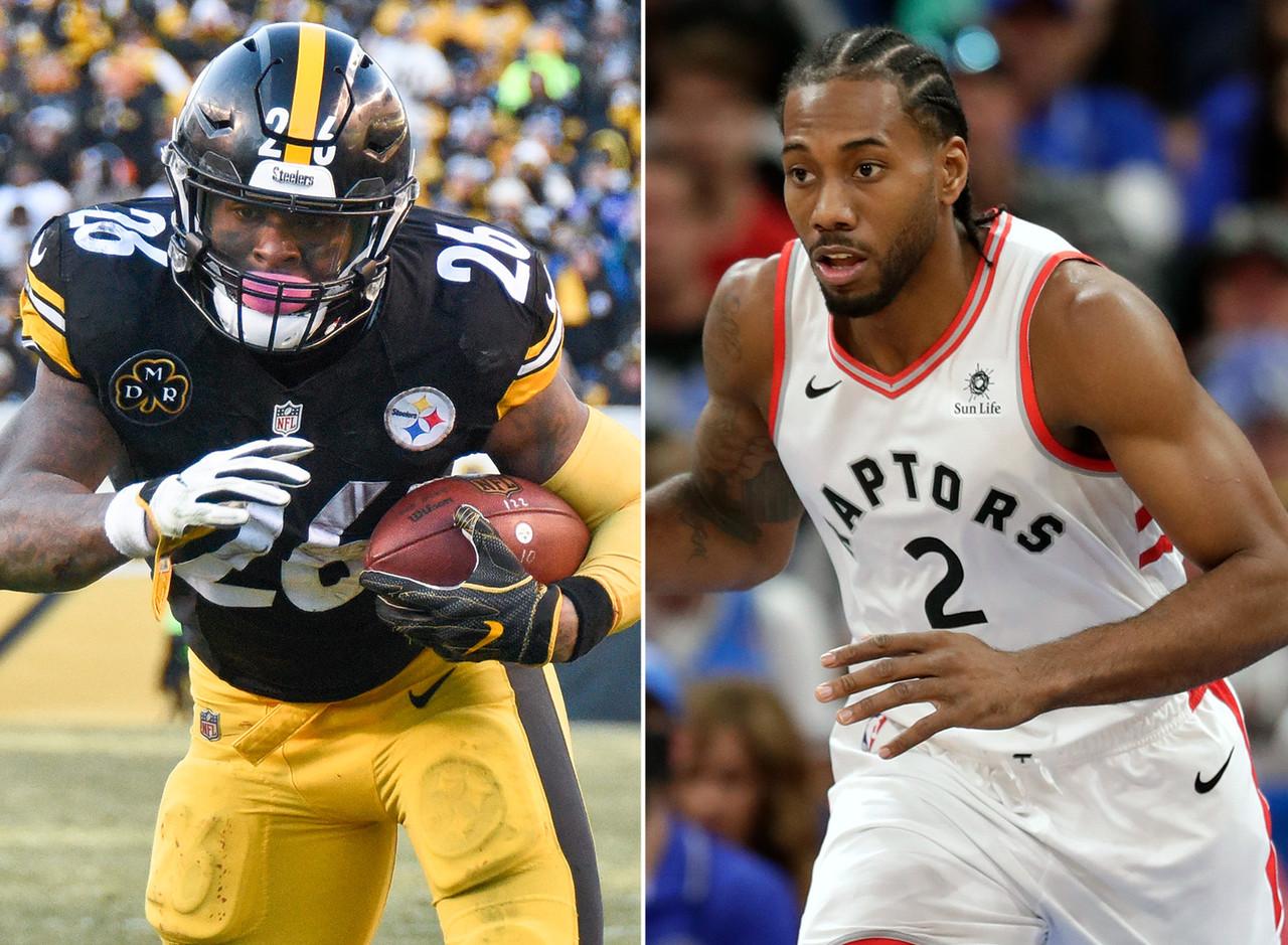 Le'Veon Bell, RB, Steelers - Kawhi Leonard, F, Raptors