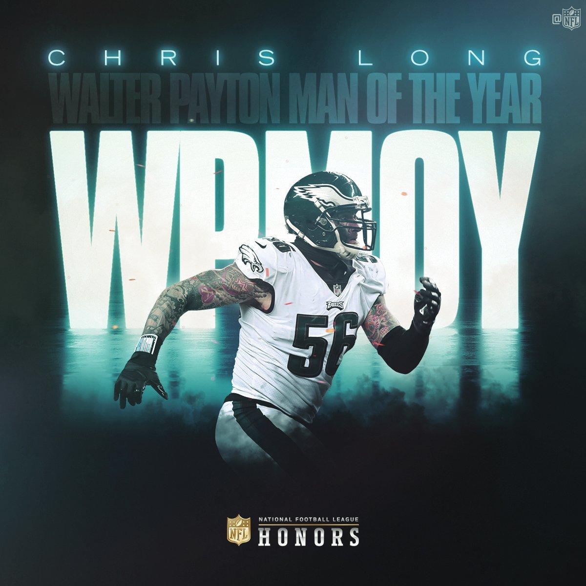 Walter Payton Man of The Year: Chris Long