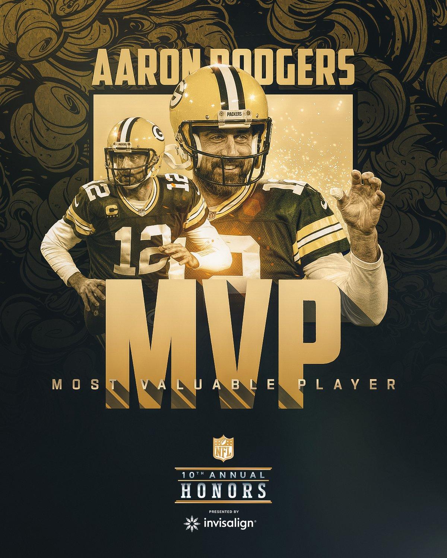 MVP: QB Aaron Rodgers, Packers