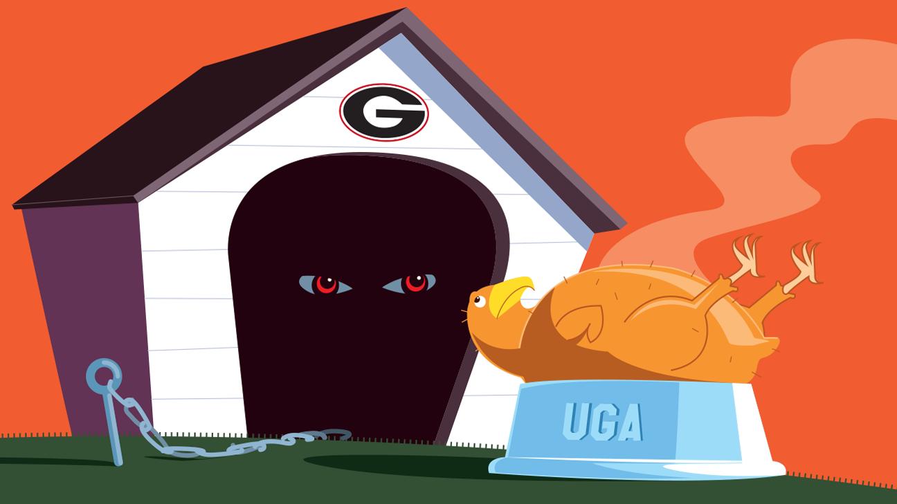 Georgia spegne le speranze di Auburn