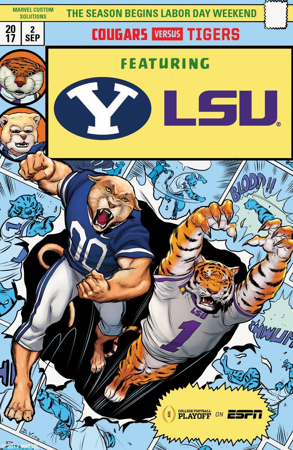 Brigham Young vs LSU