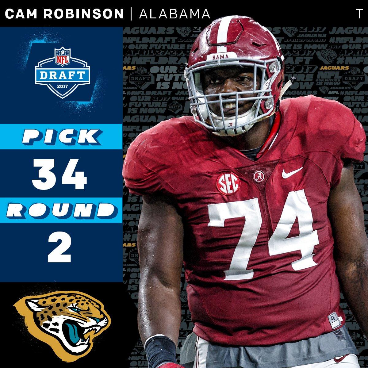 34 - Cam Robinson