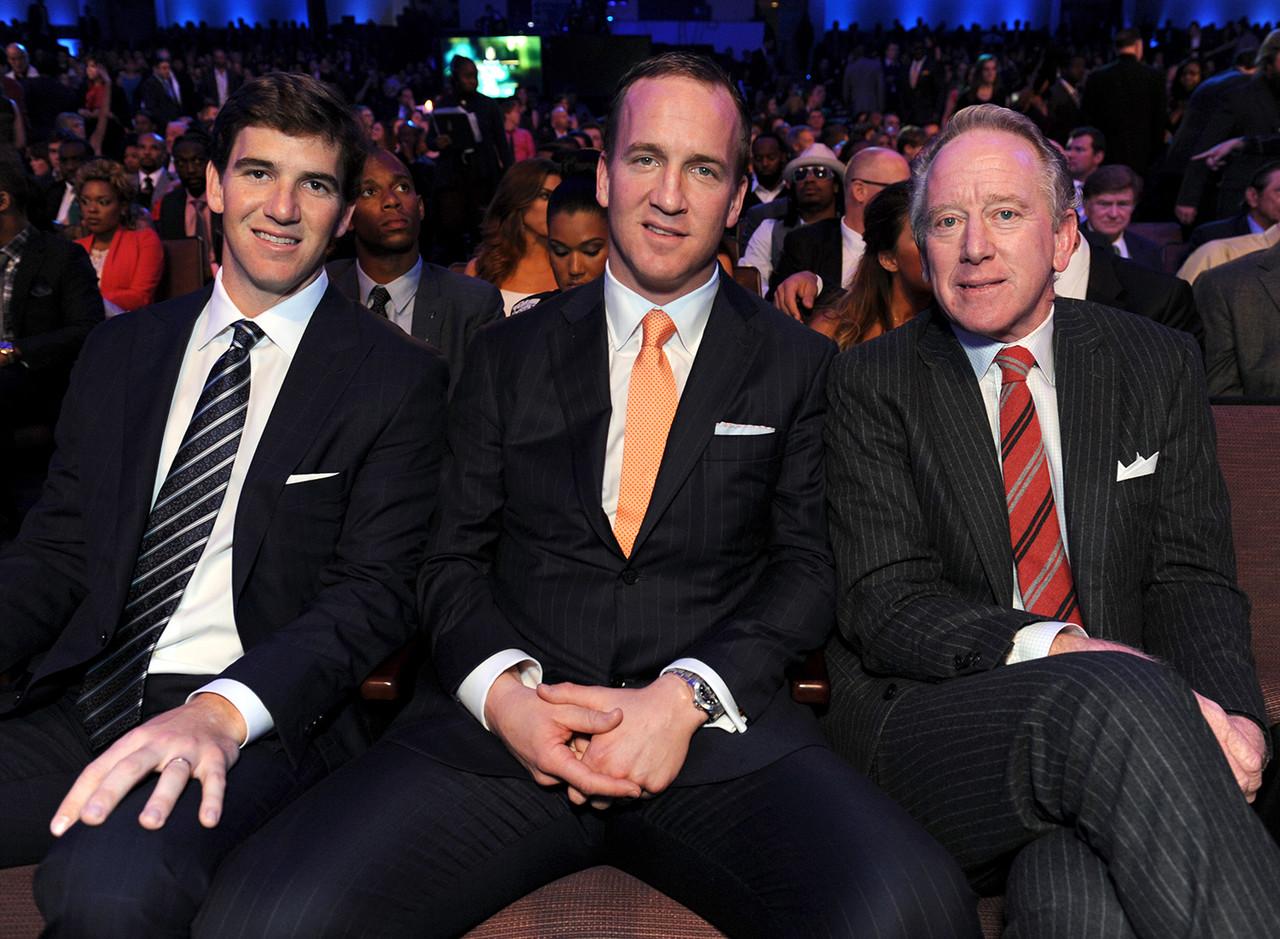 Archie, Peyton ed Eli Manning