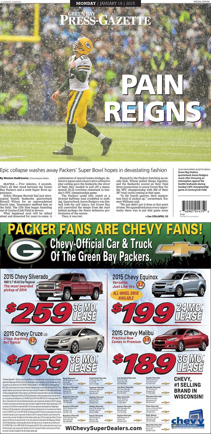 Green Bay Press-Gazette / Packers
