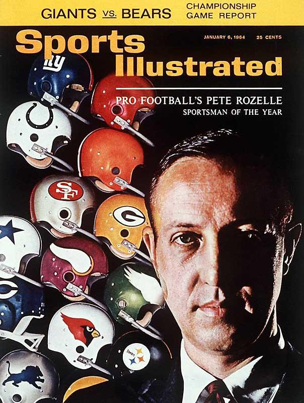 1963 - Pete Rozelle (Commissioner NFL)