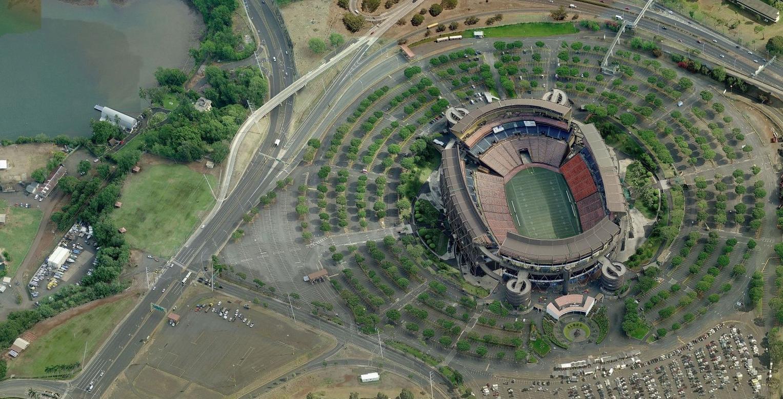 Aloha Stadium - Pro Bowl
