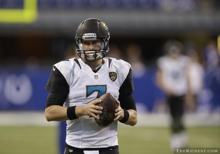 10. Chad Henne – Jacksonville Jaguars – $201,923 per TD pass