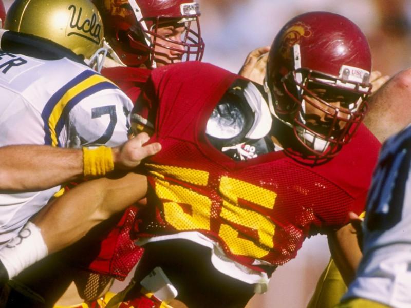 Junior Seau of the USC Trojans