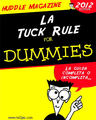 [NFL] Tuck Rule for dummies