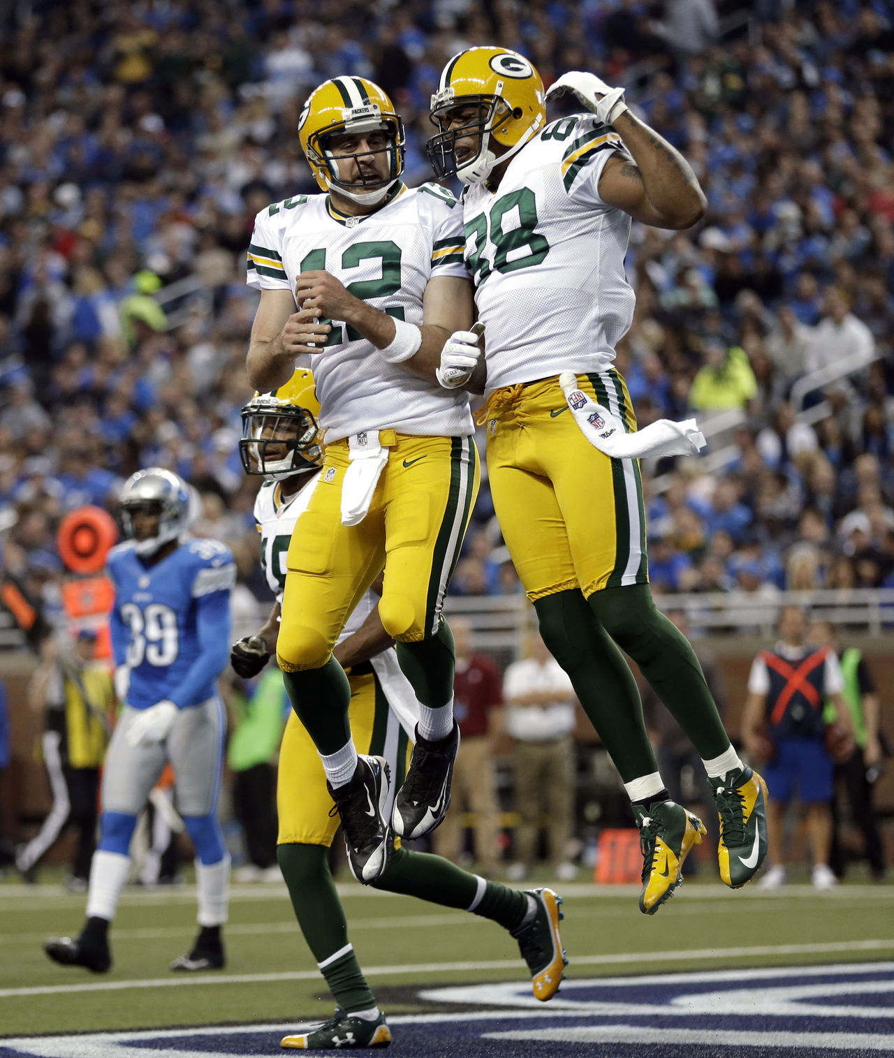 [NFL] Week 11: i Packers si impongono al Ford Field