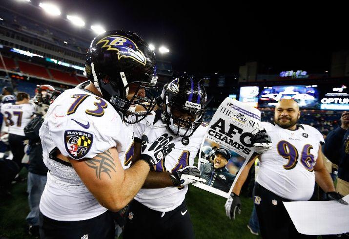 [NFL] Championship: i Ravens atterrano i Patriots e decollano per New Orleans