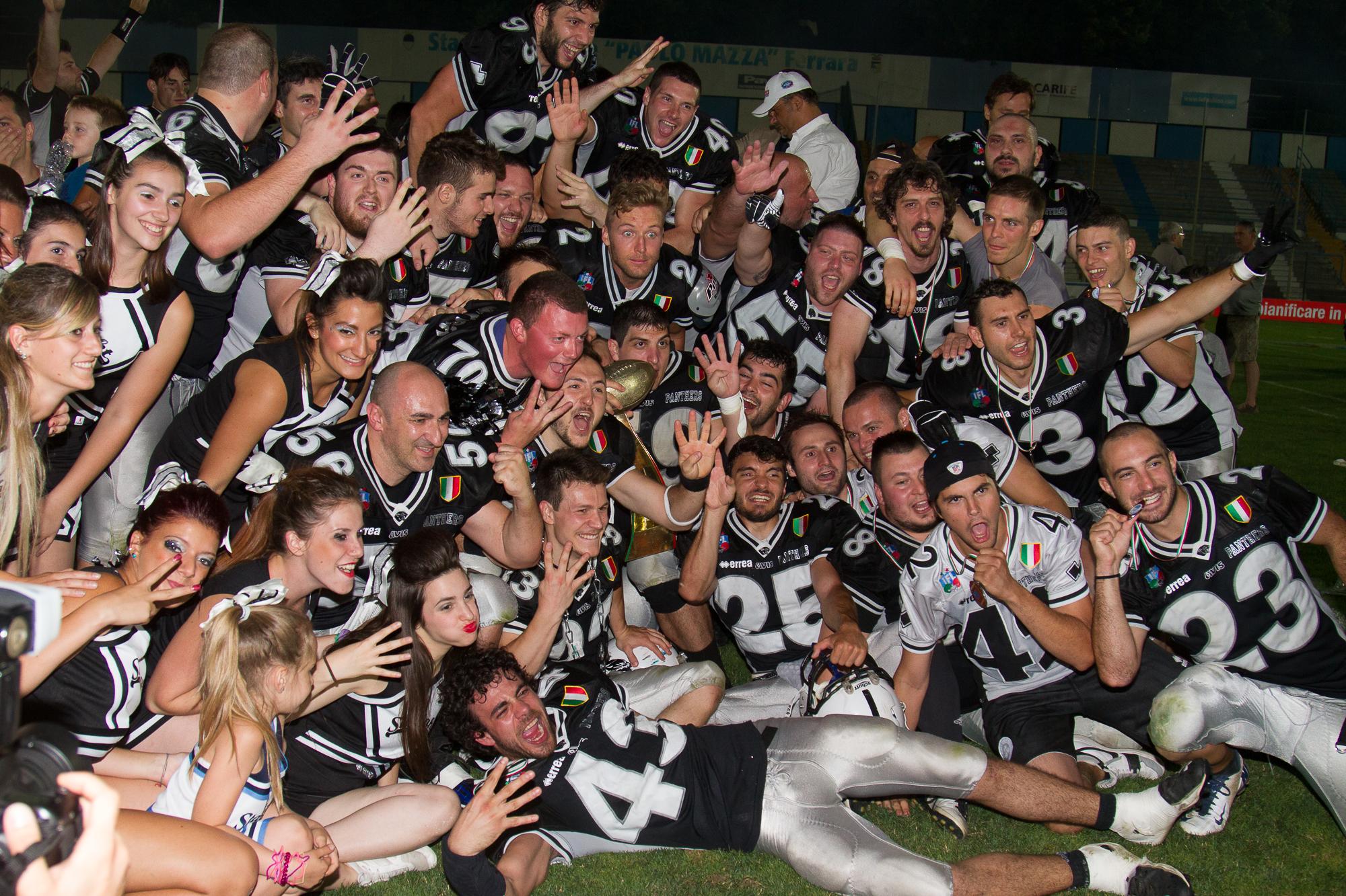 [IFL] I Panthers Parma vincono il Super Bowl XXXIII