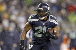 Marshawn Lynch Seattle Seahawks