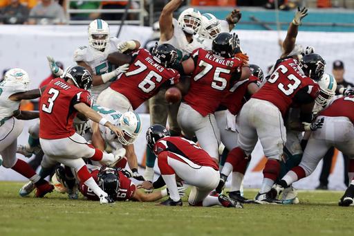 [NFL] Week 3: Miami Dolphins vs Atlanta Falcons 27-23