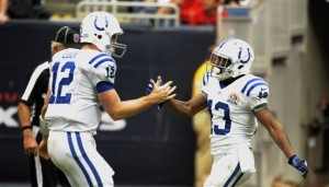 Andrew Luck, T.Y. Hilton