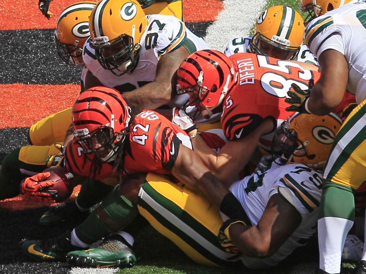 [NFL] Week 3: Cincinnati Bengals vs Green Bay Packers 34-30