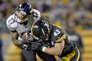 Troy Polamalu, Tandon Doss