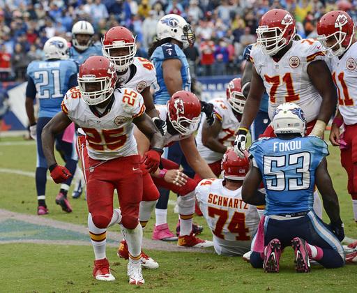 [NFL] Week 5: Kansas City Chiefs vs Tennessee Titans 26-17