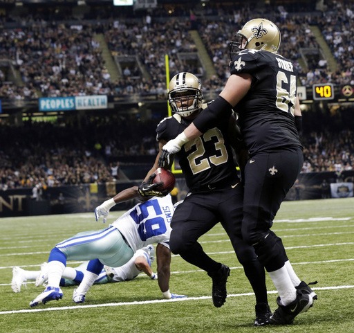 [NFL] Week 10: Dallas Cowboys vs New Orleans Saints 17-49