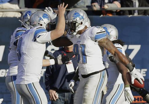 [NFL] Week 10: Detroit Lions vs Chicago Bears 21-19
