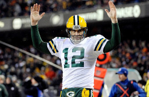Aaron Rodgers - Green Bay Packers v Chicago Bears