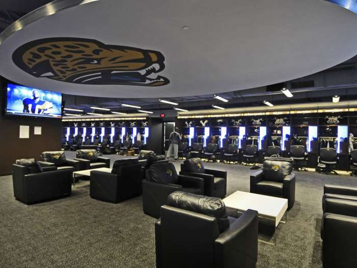 [NFL] Lo spogliatoio dei Jacksonville Jaguars