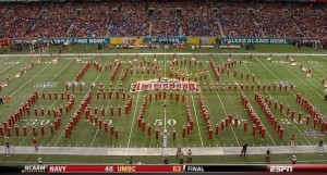 The-Texas-marching-bands-tribute-to-Mack-Brown