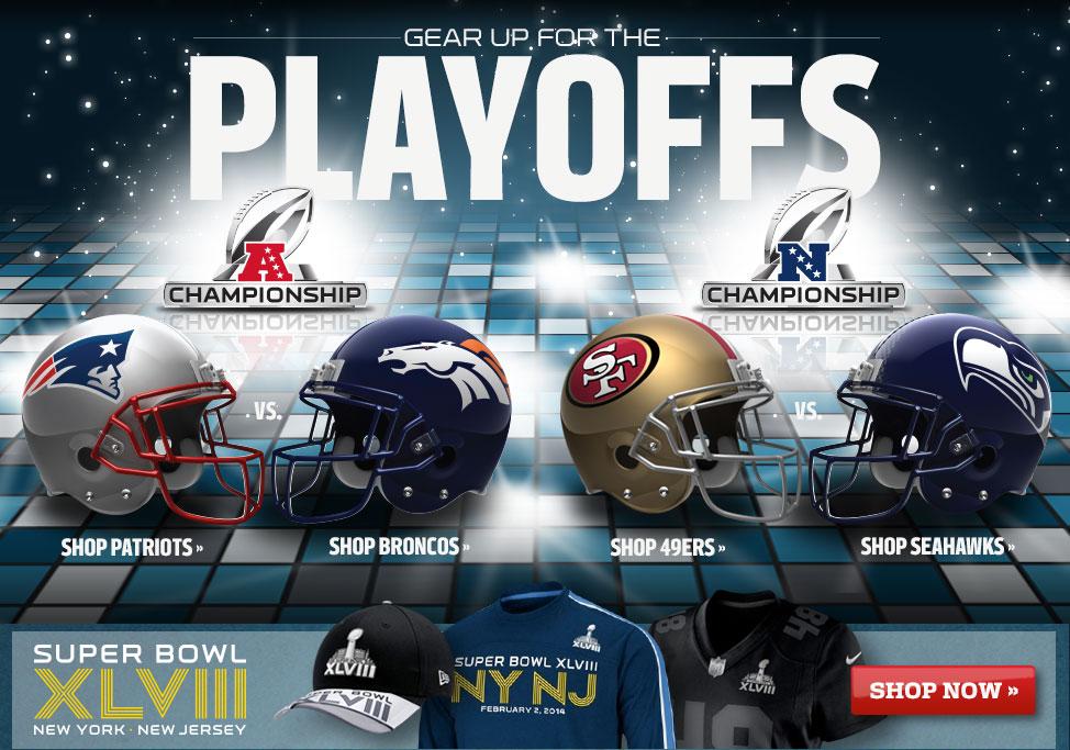 [NFL] Il merchandising di chi vincerà la Conference