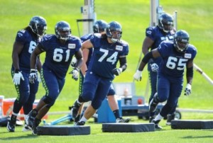 seattle offensive line