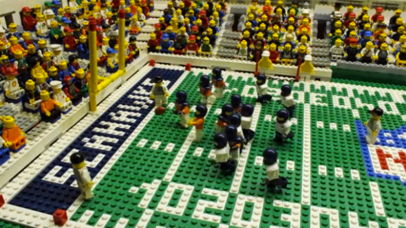 [NFL] Super Bowl: gli highlight con i Lego