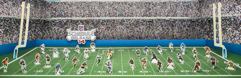 [NFL] Il calendario della vostra squadra per smartphone