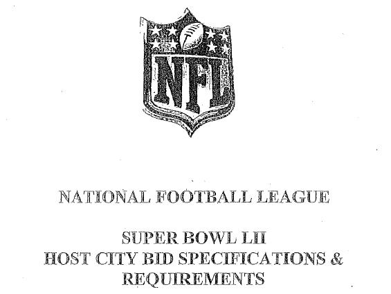 [NFL] Cosa vuole la NFL per assegnare il Super Bowl